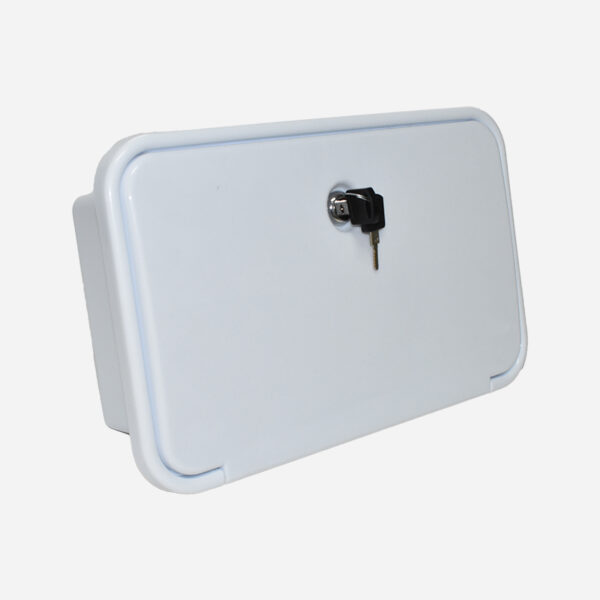 External Shower Box – White