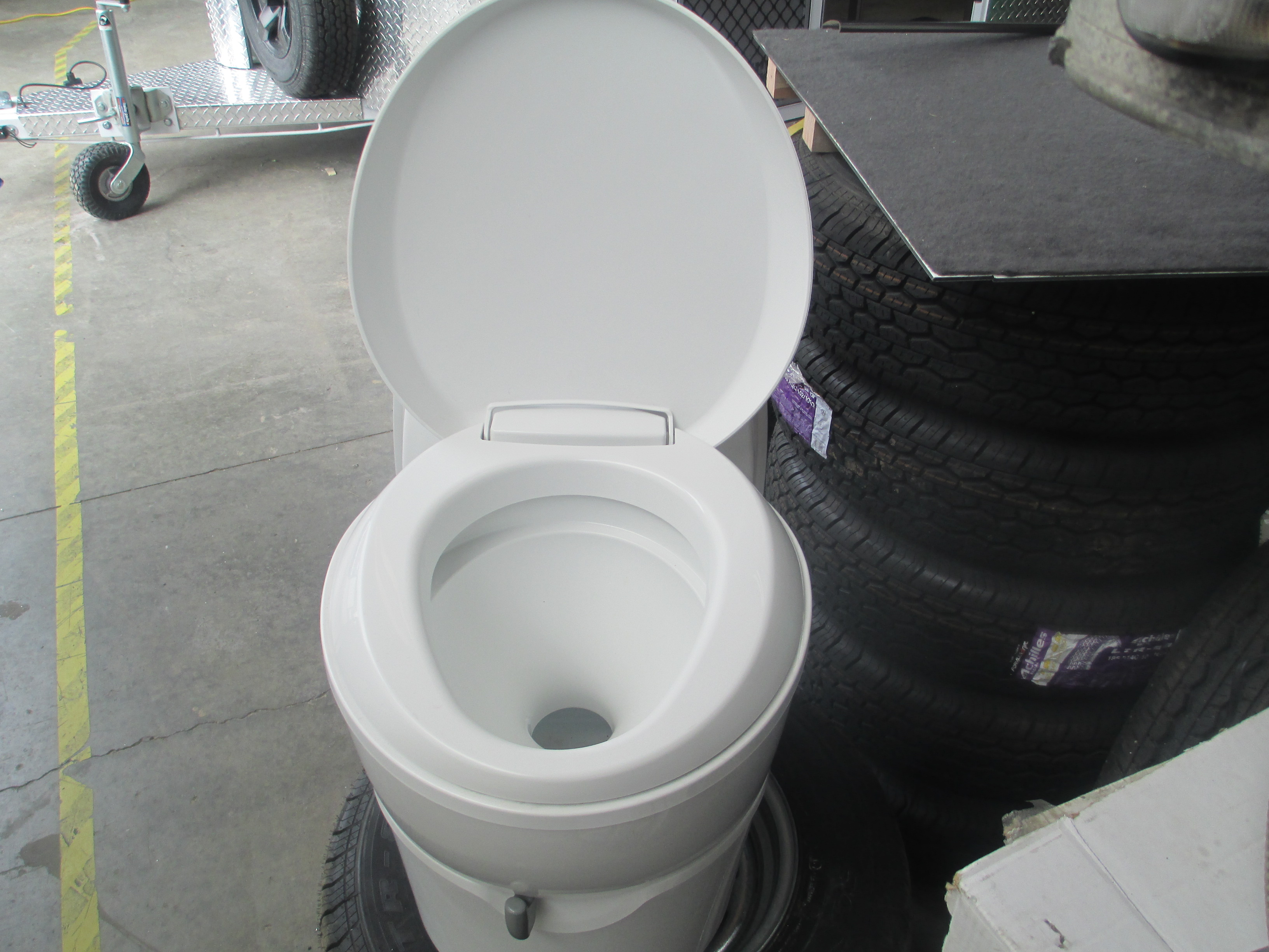Thetford C223cs Swivel Toilet With Access Door Included Discount Rv Parts