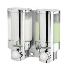 Double shampoo dispenser