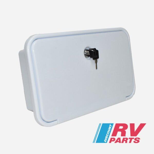 External Shower Box – White